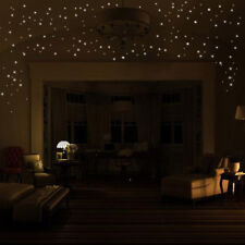 Glow In The Dark Star Wall Stickers 407Pcs Round Dot Luminous Kids Home Decor US