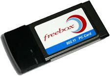 Carte Wifi (802.11b PC CARD) pour Freebox V1, V2, V3, V4 neuve jamais utilisé