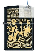 Zippo 218 vietnam verteran sacrifice Lighter & Z-PLUS INSERT BUNDLE