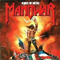 (CD) Manowar - Kings Of Metal - Wheels Of Fire, Blood Of The Kings, Kingdom Come