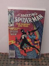 The Amazing Spider-Man #252 Marvel 1st Black Spider-Man Costume in This Series
