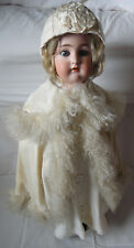 SIMON & HALBIG/Kammerphilharmonie & Reinhardt. Antique German Doll. 29 in (environ 73.66 cm) circa 1920