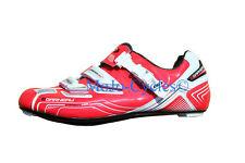 Louis Garneau Carbon Pro Team Cycling shoes Red EU 46 New