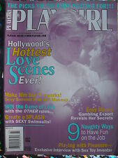 LEONARDO DICAPRIO - HOLLYWOOD'S HOTTEST LOVE SCENES July 1998 PLAYGIRL