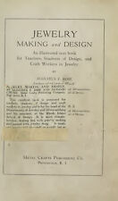 Jewelry Making by Augustus F. Rose Book on CD – Design, How to