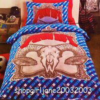 Piping Hot ☠ Carcass ☠ Single/US Twin Bed Quilt Doona Duvet Cover Set ☠