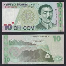 New listing Kyrgyzstan - 10 Som 1997 Fds / Unc C-08
