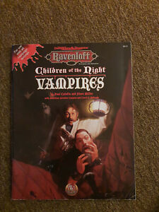 AD&D / D&D / Adv. Dungeons&Dragons -Children of the Night Vampires - TSR 9513