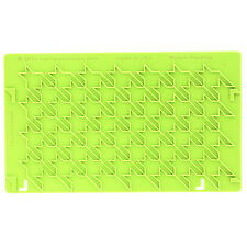 Houndstooth Silicone Onlay Mold by Marvelous Molds #MMO-1408 Gum Paste Mold
