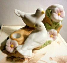 Avon 1985 Anniversary porcelain Taper Candle Holder