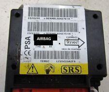 Citroen C3 réparation calculateur airbag