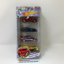 #13  Holiday 4-Pack * Hot Wheels * C20