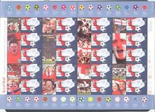 WORLD SOCCER CUP UNITED KINGDOM GREAT BRITAIN 2002 Scott 2055, SHEET OF 20, MNH