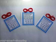 Kabbalah Red String Bracelet For Good luck and against evil eye 3 sets
