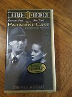 The Paradine Case VHS 1947 Brand New Gregory Peck Ann Todd Crime Romance