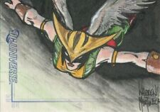 Rittenhouse Archives DC Legacy Sketchafex Sketch Card By W. Martineck Hawkgirl