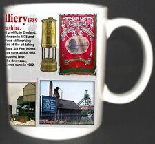 Golborne Colliery Coal Mine Mug. Limited Edition. Great Gift Miners Lancashire