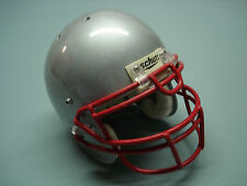 VINTAGE used SCHUTT  PRO AIR 2 Varsity Football Helmet LARGE Silver