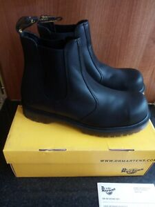 Dr Martens Icon Air Wair Leather Steel Toe Cap Work Safety Boots UK 9 EU 43