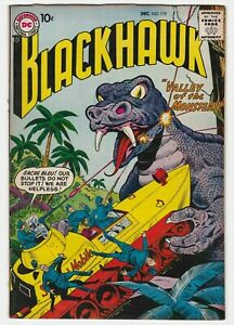 Blackhawk #119 VF 8.0 Adventure War Valley of the Monsters Olaf Chuck Andre