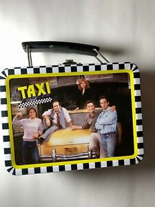 Taxi TV Show Collectible 1999 Mini Tin Box Company Lunch Box