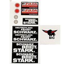 BIG Bobby Car Aufkleber STICKER Classic Fulda Bobbycar Original