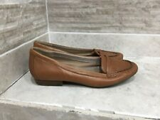 Clarks Active Air Ladies Pumps Shoes Flats Brown Leather Size UK6 D hardly used
