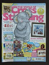 World Of Cross Stitching, September 2006, Greek Holiday, Floral Angel, Gift Posy