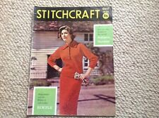 STITCHCRAFT Ladies Vintage Knitting Magazine October 1959