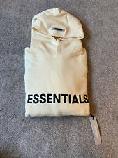 FOG Fear Of God Essentials Buttercream Hoodie Size Small S Brand New