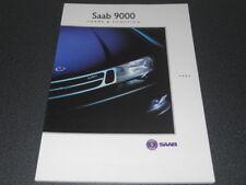 SAAB 9000 brochure Forme et Fonction modèle 1992 - référence 257139 - rare