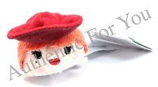 New Disney Parks Pirates of the Caribbean Tsum Tsum 3.5 Mini Plush - Red Head
