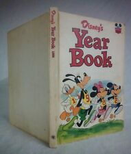 Disney's YEAR BOOK 1982 Published by Grolier Enterprises Hardcover