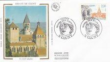 Francia 1990 FDC Abadías De Cluny yt