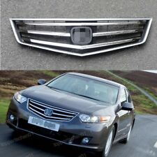 Front Bumper Upper Hood Grille Chrome for Honda Accord 2009-2010