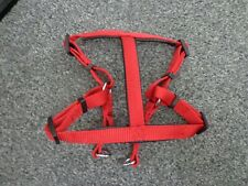 dog harness red great condition only used once L@@K