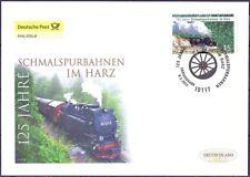 BRD 2012: Schmalspurbahnen im Harz Post-FDC Nr. 2910 mit Berliner Stempel! 1809