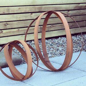 Garden Sphere Ball, Metal Orb, Garden art, Garden decor, Landscaping