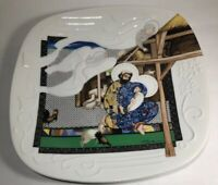 """1988 Collector Plate Knowles """"The Nativity The Story of Christmas"""" Eve Licea"""