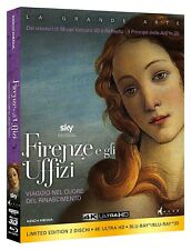 Koch Media Firenze e gli Uffizi(collectors Edition) (2 Blu-ray 2d/3d 4k)