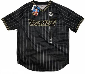 DRAGON BALL Z Goku Jersey (M, Black/Gold)