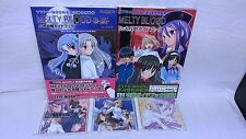 Doujin PC Game MELTY BLOOD FR Ver & Re・ACT & CD & Book Fighting Tsukihime Japan