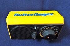 Vintage Butterfinger Novelty Transistor Bike Radio Advertising Bicycle Kid Radio
