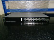 More details for cisco sg500-28p  24 port gig  poe managed  switch with 2 combi and 2 x sfp.