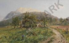 PAINTING BARBARINI VIEW OF THE DOBRATSCH GIANT WALL POSTER ART PRINT LLF0590