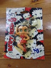 Sexy Betty Boop In Red Dress & Heels Keychain NEW in Package