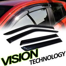 For 96+ Pathfinder R50 JDM Rain/Wind Dark Tint Guard Vent Deflector Window Visor