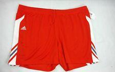 Adidas Mens Sz 2XL Climalite Utility Shorts Athletic Shorts Orange NWT