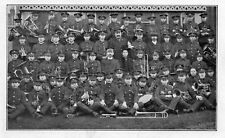 The Lads of KENT BRASS BAND - Unused Vintage Postcard Social History (SH260S)