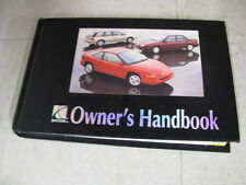 OWNERS MANUAL Saturn S Wagon 1994 94 329580